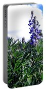 Wild Lupines Portable Battery Charger