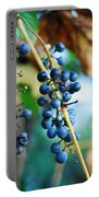 Wild Michigan Grapes Portable Battery Charger