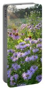 Wild Mints And Coneflowers Portable Battery Charger