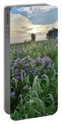 Wild Mints And Foxtail Grasses At Glacial Park Portable Battery Charger