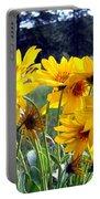 Wild Okanagan Sunflowers Portable Battery Charger