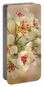 Wild Pear Blossom Portable Battery Charger