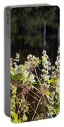 Wild Riverside Weeds And Flowers Portable Battery Charger