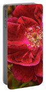 Wild Rose As Oil Portable Battery Charger
