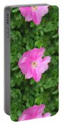 Wild Rose Pattern Portable Battery Charger