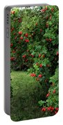 Wild Rosehips Portable Battery Charger