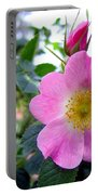 Wild Roses 2 Portable Battery Charger