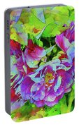 Wild Roses 3 Portable Battery Charger