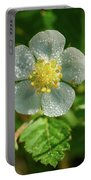 Wild Strawberry Flower Portable Battery Charger