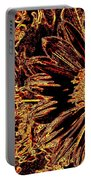Wild Sunflower Abstract Portable Battery Charger