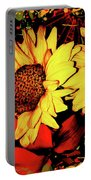 Wild Sunflowers Portable Battery Charger