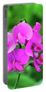 Wild Sweet Pea Portable Battery Charger