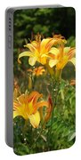 Wild Tiger Lilies Portable Battery Charger