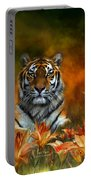 Wild Tigers Portable Battery Charger