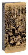 Wild Turkeys Portable Battery Charger