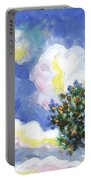 Wild Vineyard Quadriptych Part One Portable Battery Charger