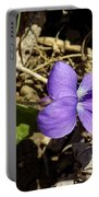 Wild Violet Portable Battery Charger