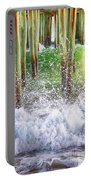 Wild Waves Under The Boardwalk Portable Battery Charger