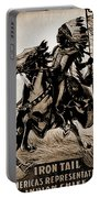 Wild West Poster Portable Battery Charger