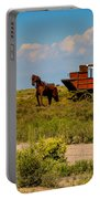 Wild West Ranch Art  Portable Battery Charger