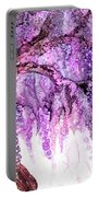 Wild Wisteria 2 Portable Battery Charger
