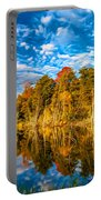 Wilderness Pond - Paint Portable Battery Charger