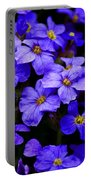 Wildflower Blues Portable Battery Charger