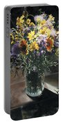 Wildflower Bouquet II Portable Battery Charger