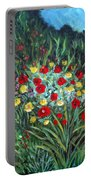 Wildflower Garden 1 Portable Battery Charger