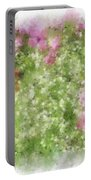 Wildflower Garden Portable Battery Charger