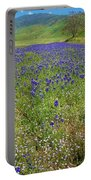 Wildflower Mix At Tejon Ranch Portable Battery Charger