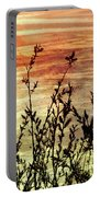 Wildflower Sunrise Portable Battery Charger