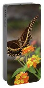 Wildflower Swallowtail Portable Battery Charger