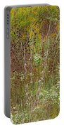 Wildflower Tapestry In Jefferson County Portable Battery Charger