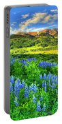 Wildflower Wonder Portable Battery Charger