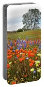 Wildflower Wonderland 5 Portable Battery Charger