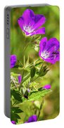 Wildflowers - 1 Portable Battery Charger