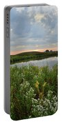 Wildflowers Along Nippersink Creek In Hackmatack Nwr Portable Battery Charger