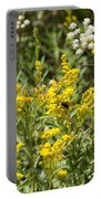 Wildflowers And Bee Portable Battery Charger