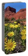 Wildflowers And Butte Portable Battery Charger