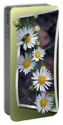 Wildflowers And Visitor Portable Battery Charger