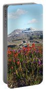 Wildflowers At Mount St Helens Portable Battery Charger