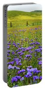 Wildflowers Carrizo Plain National Monument Portable Battery Charger