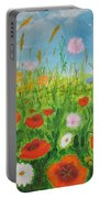 Wildflowers Field Portable Battery Charger