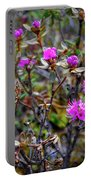 Wildflowers In Alaska Portable Battery Charger
