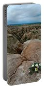 Wildflowers In The Badlands Portable Battery Charger