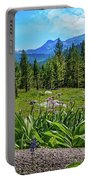 Wildflowers In Upper Yosemite Portable Battery Charger
