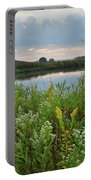 Wildflowers Of Hackmatack National Wildlife Refuge Portable Battery Charger