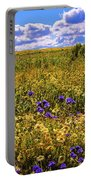 Wildflowers Of The Carrizo Plain Superbloom 2017 Portable Battery Charger