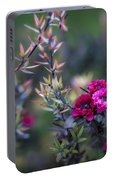 Wildflowers On A Cloudy Day Portable Battery Charger